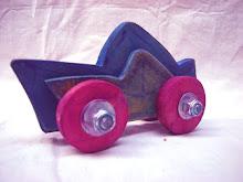 Auto Azul.