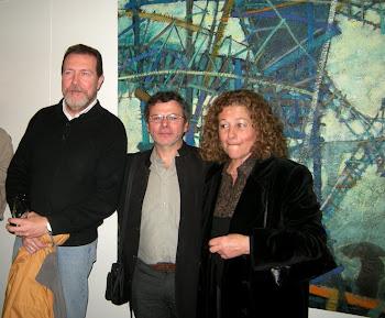 Con Mauricio Nizzero y Silvia Dimarco.