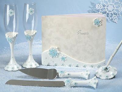 Wedding Ideas Snowflake Favors