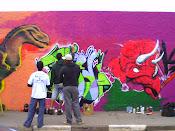 trampo dos grafiteiros