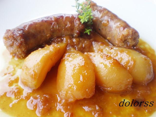 http://blogdecuina.blogspot.com.es/2010/03/longaniza-con-peras-caramelizadas.html