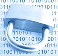 Lucchetto chiuso per mantenere al sicuro i dati personali