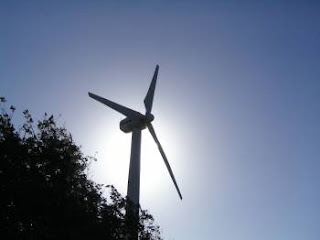Turbina di un generatore eolico domestico