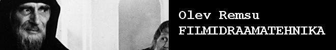 Olev Remsu: Filmidraamatehnika