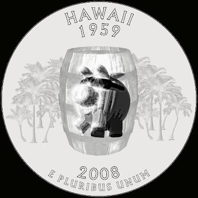 HawaiiPorkBarrelQuarter copyright 2008 Cosanostradamus blog me no blogs