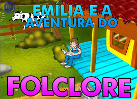 Emília e a aventura no Folclore!
