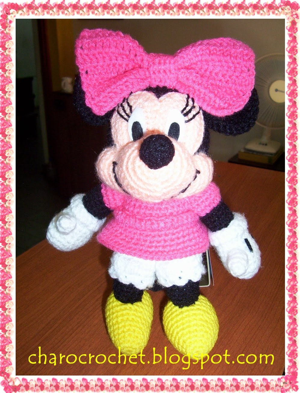 Crochet Patterns For Minnie Mouse : CHAROCROCHET PATRONES: MINNIE MOUSE