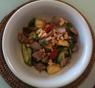 Your local markets recipe chinese roast duck salad pineapple this recipe comes courtesy of neil perrys good food cookbook the chinese ducks are available roasted from any good chinese barbeque shop forumfinder Gallery