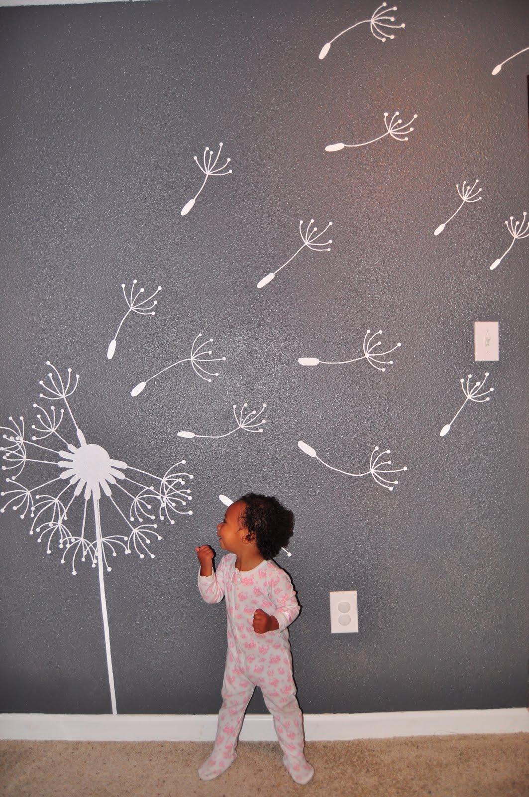 Dandelion mural for Dandelion mural