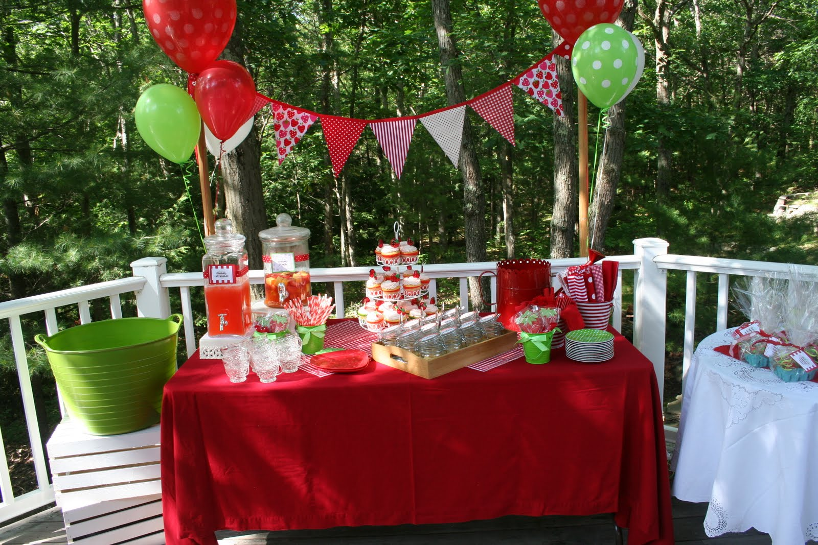 Celebrate!: Strawberry Birthday Picnic