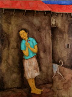 Painting by Ramesh Terdal