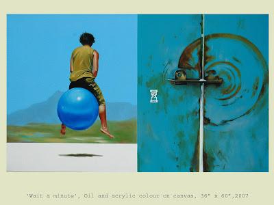 Painting by Ravikumar Kashi