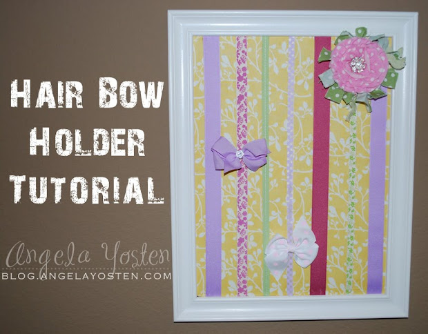 angela yosten hair bow holder