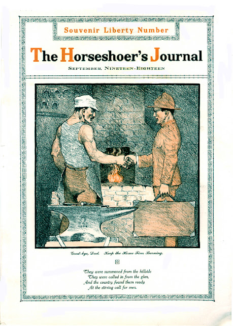 Horseshoers Journal 1918
