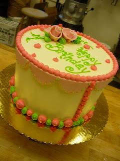 Cake Baking Class Boston