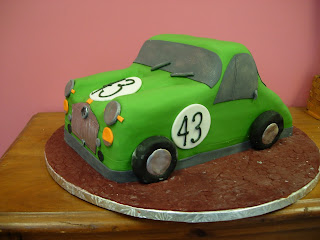 Artisan Bake Shop MG Antique Car Cake