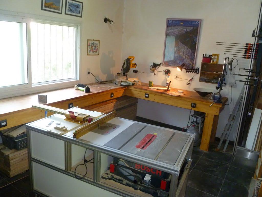 Herramientas y carpinter a mesa incra con perfiles de for Mesa herramientas