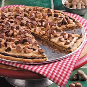 Simply Scrumptious: Triple Peanut Butter Pizza Pie (Death)