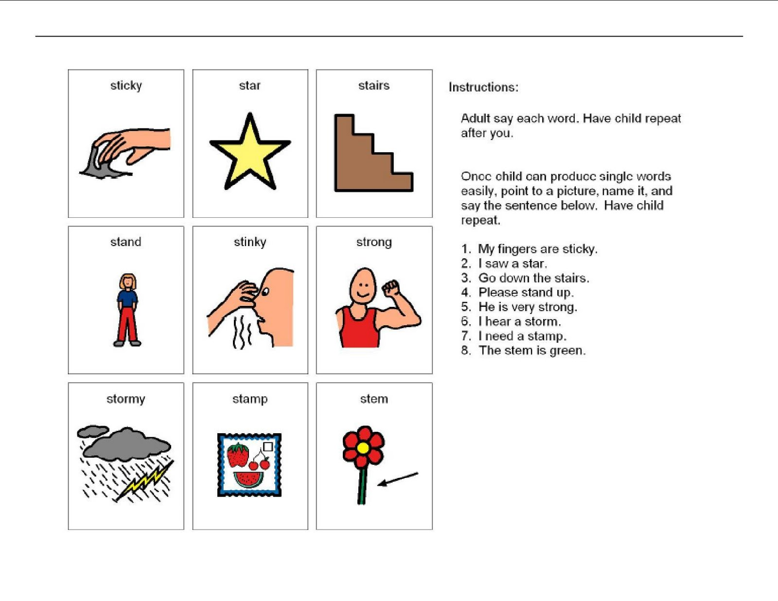ST: Consonant Blend - Enchanted Learning Software