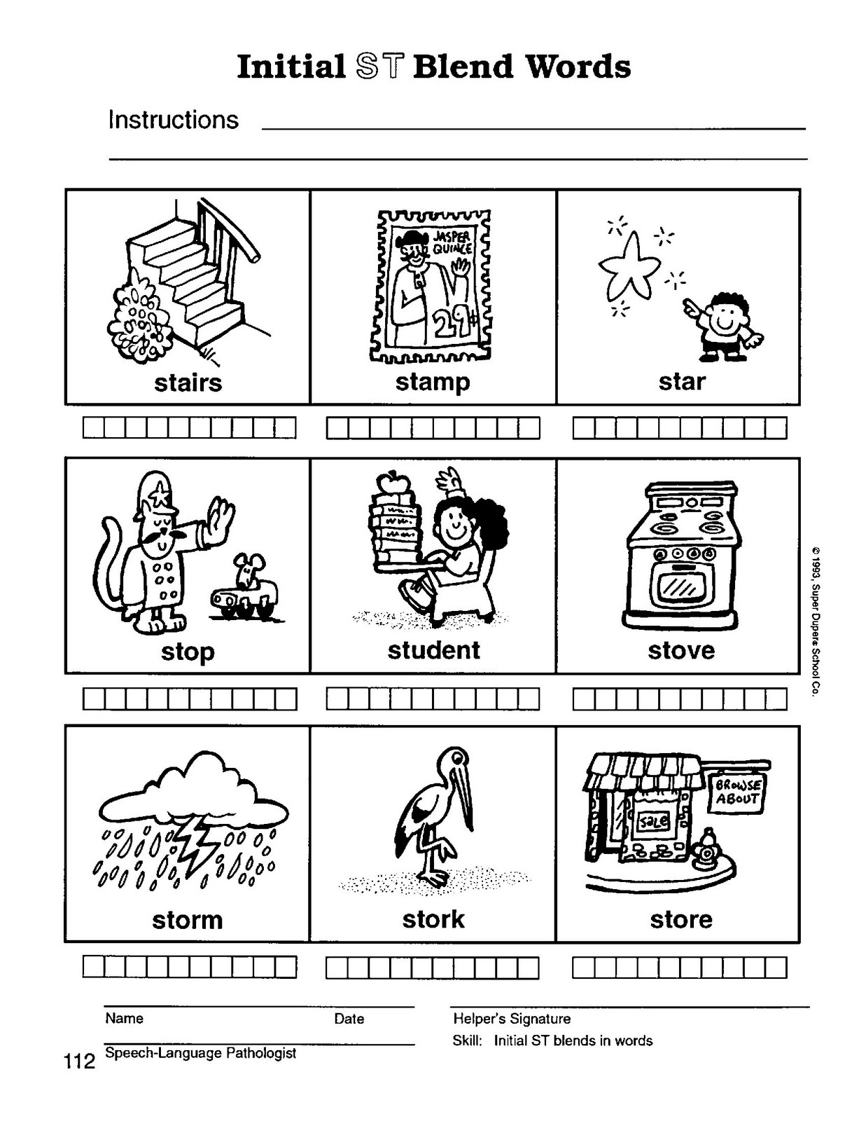 Worksheets Blend Worksheets worksheet ending consonant blends wosenly free blend words speech therapy with miss nicole s testy words