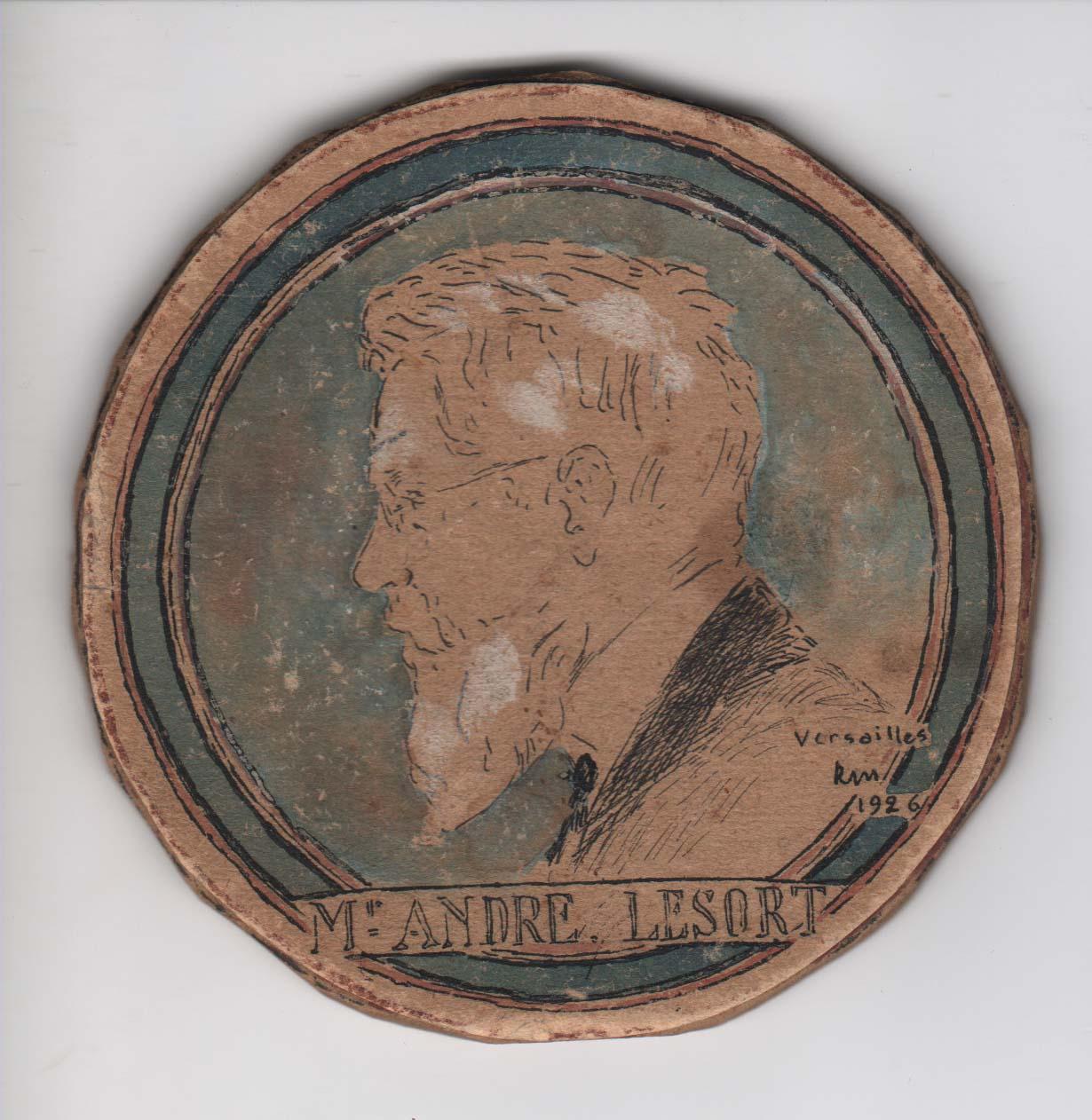 Famille lesort madelin dessin de grand p re 1926 - Dessin grand pere ...