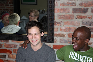 Jed And John Enjoy Hutchu0027s Quaint Setting Among Friends!