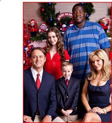 Blind Side Christmas Card Scene Photo Christmas 2018