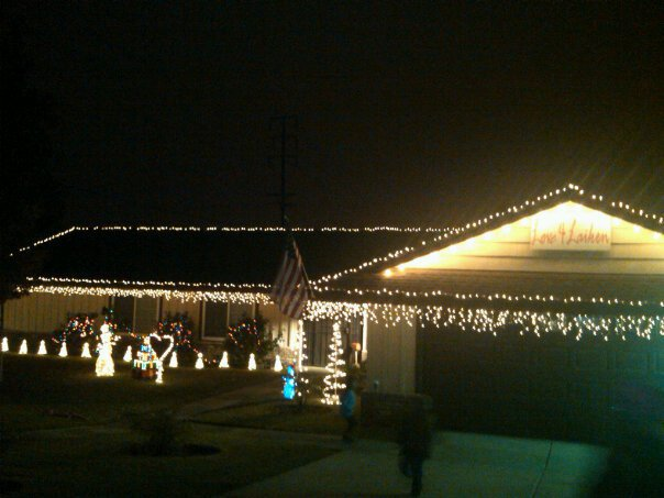 laiken loved christmas and christmas lights laikens mom hosts this event in laikens memory each year and makes hot chocolate for everyone that comes to - Chino Christmas Lights