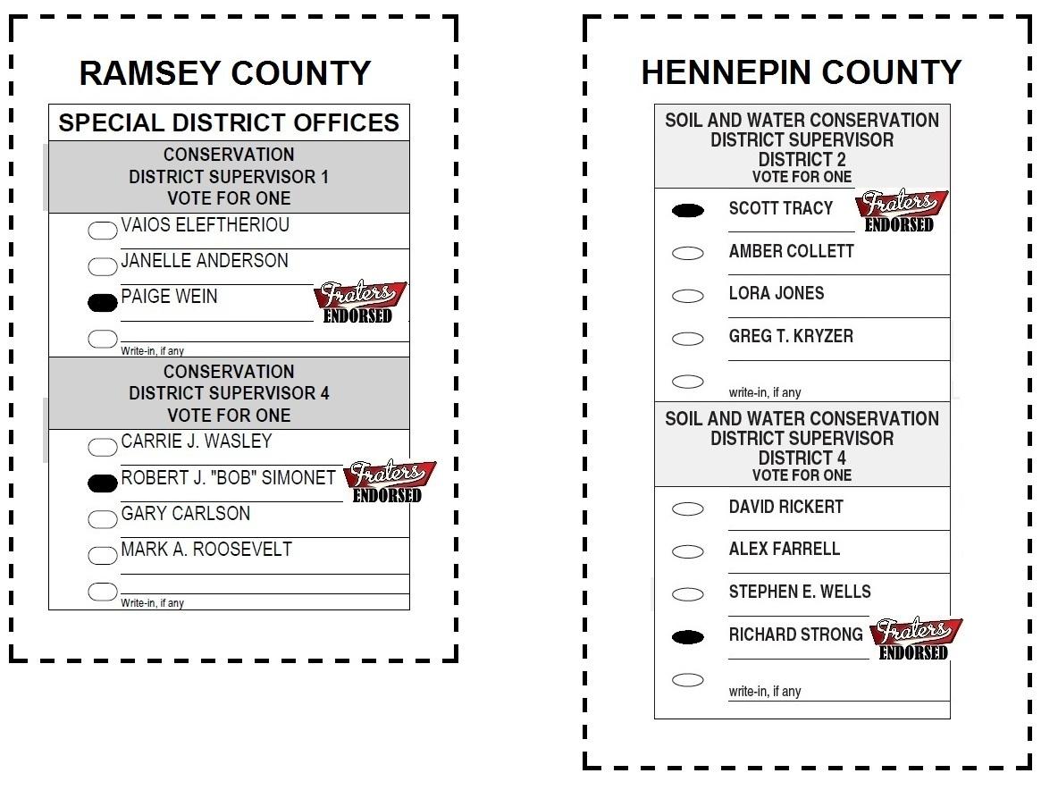 sample ballots templates