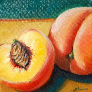 Painting Peaches Andy Warhol