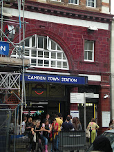 Here's my neighborhood tube stop, camden town.