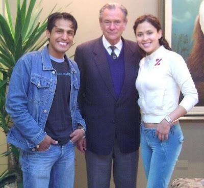 Gerardo Zamora y Adriana Quevedo