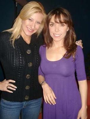 Adriana Romero junto a Carmen Elena Manrique