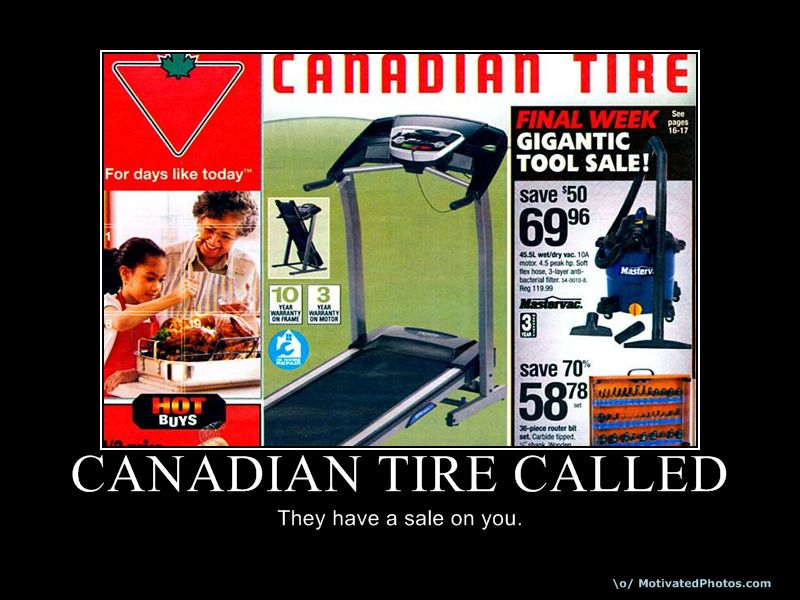 Canadian Tire Called