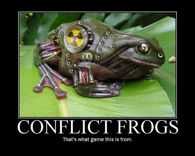 Conflict Frogs