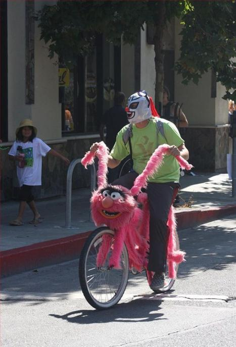 Pink Muppet Bike