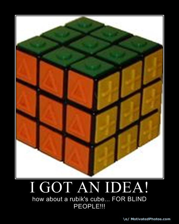 I GOT AN IDEA!