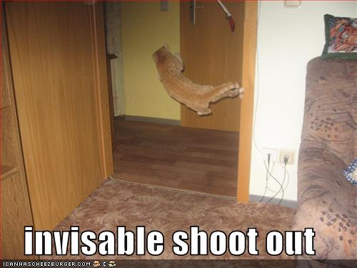 invisable shoot out