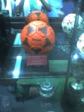 La pelota naranja