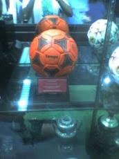 La pelota naranja