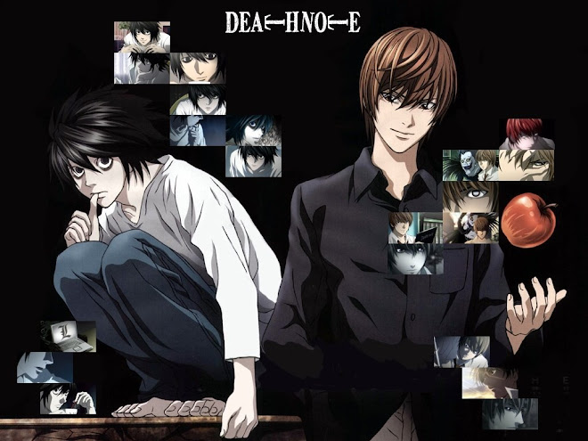 yagami light & elle lawliet