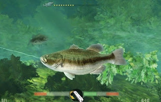 Underwater Action Screenshot from Fishing Frenzy 2009