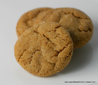 Big, Bold, Beautiful Food: Cookie Swap: Kate's Ginger Snaps