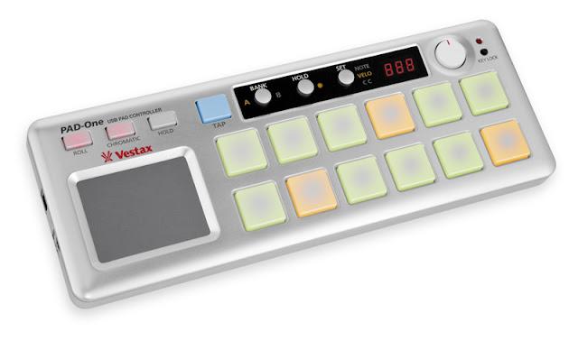 Controlador Vestax Pad One