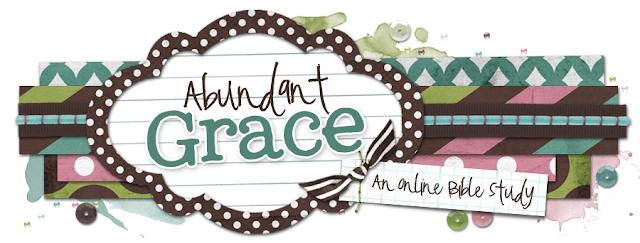 Abundant Grace Blog Design