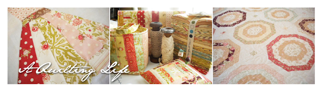 A Quilting Life Blog Design