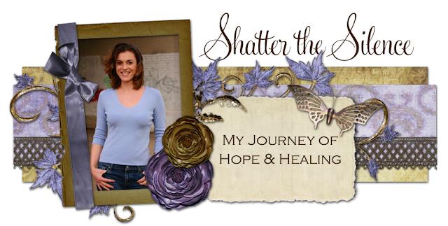 Shatter the Silence Blog Design