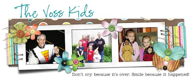 The Voss Kids Blog Design