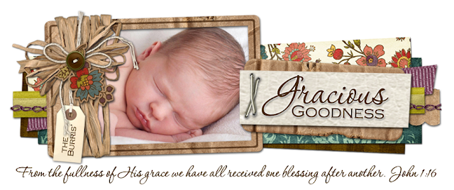 Gracious Goodness Blog Design