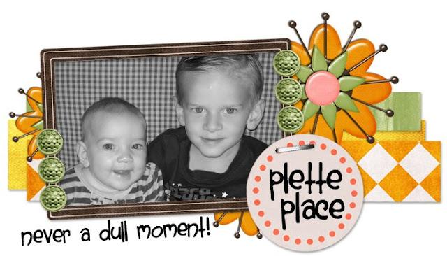 Plette Place Blog Design